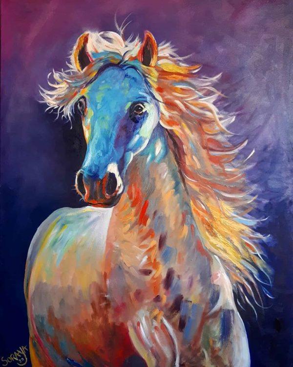 zingaro cavalo horse painting