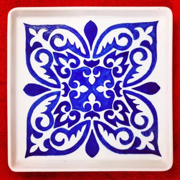 soraya pamplona porcelana pintada azulejo 001