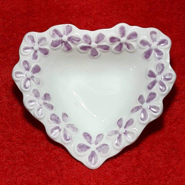 soraya pamplona porcelanas pintadas bowl petisqueira coracao lilas