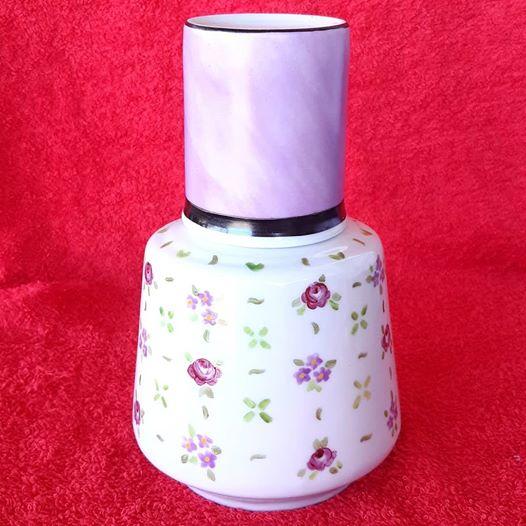 soraya pamplona porcelanas pintadas moringa de flores