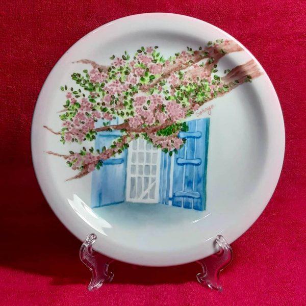 soraya pamplona porcelana prato de sobremesa fotografia