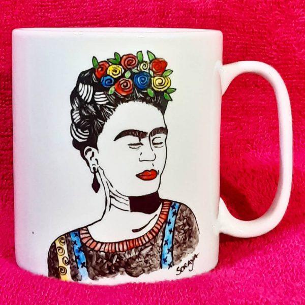 soraya-pamplona-porcelanas-pintadas-caneca-frida-kahlo-arte-mexicana