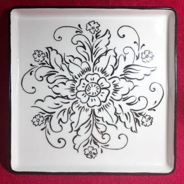 soraya-pamplona-porcelanas-pintadas-prato-quadrado-bandeja-flor-turca-iznik